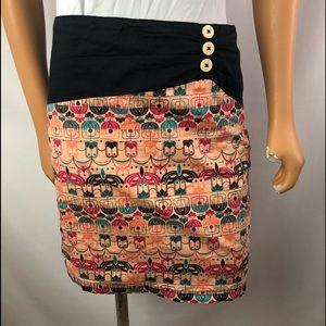Skunkfunk fully lined mini skirt Size Small